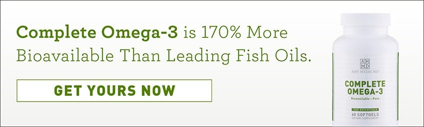 170% more bioavailable than leading fish oils. Get yours now. Complete Omega-3 bottle.