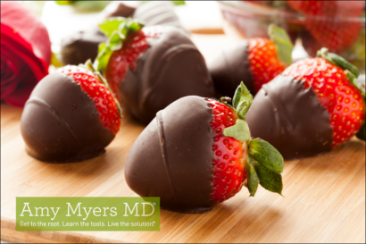 Valentine's Gluten-Free, Dairy-Free Chocolate-Covered Strawberries
