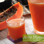 Papaya Green Juice
