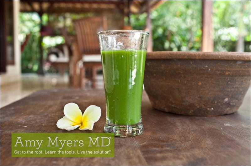 Key Lime Lemongrass Mint Juice