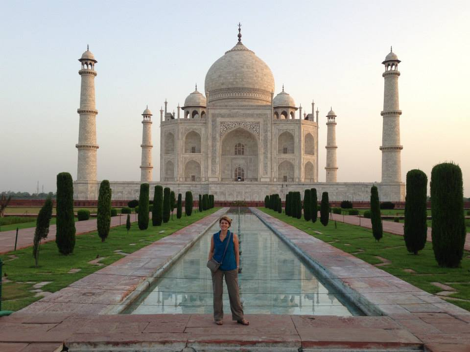 Dr. Myers at the Taj Mahal - Amy Myers MD