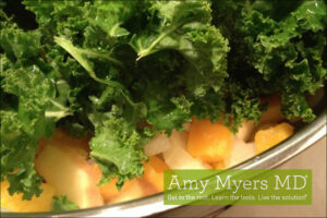 Butternut Squash with Kale and Pine Nuts