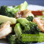 Broccolini with Lemon Shrimp