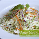 Cabbage and Kelp Noodle Salad