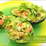 Salmon Stuffed Avocado