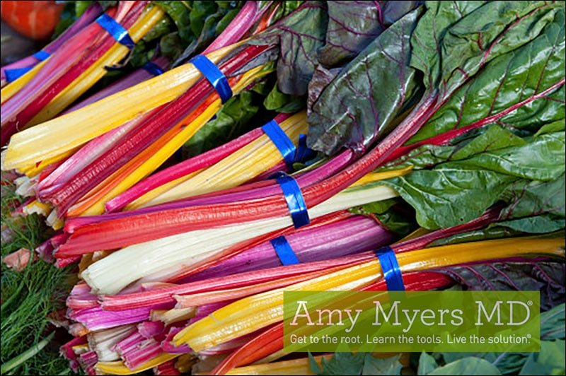 Paleo Rainbow Chard and Chicken Stir-Fry - Amy Myers MD
