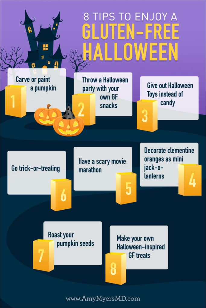 Tips for a gluten-free halloween