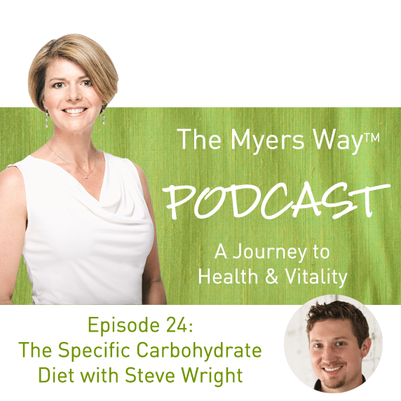 The Myers Way Episode 24: The Specific Carbohydrate Diet with Steve Wright
