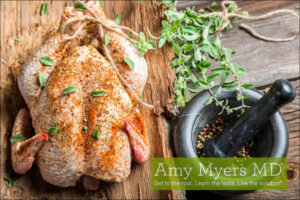 Quick and Easy Roasted Chicken & Gut Healing Bone Broth