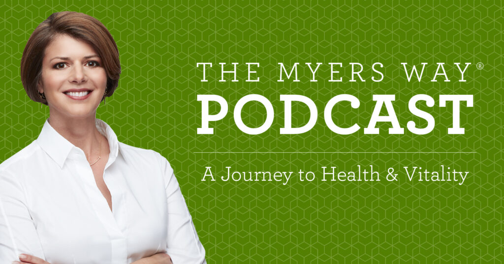 The Myers Way Episode 24: The Specific Carbohydrate Diet with Steve Wright - The Myers Way Podcast Cover Image - Amy Myers MD