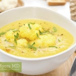 Indian Cauliflower Curry with Organic Asparagus and Free-Range Chicken
