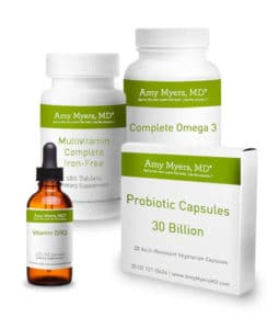 Wellness Kits - Promo Image of Bottles and Box - Amy Myers MD