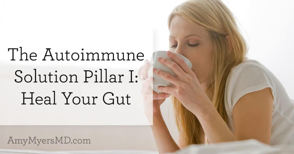 The Autoimmune Solution Pillar I: Heal Your Gut
