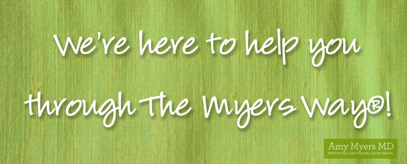 We're here to help you through The Myers Way®!
