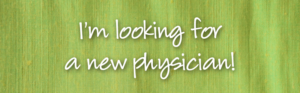 I'm looking for a new physician to join my team!