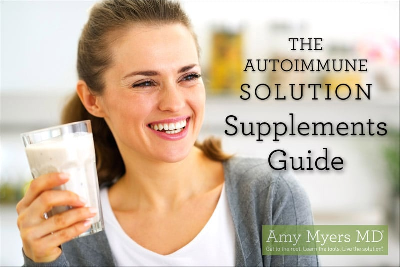 The Autoimmune Solution Supplements