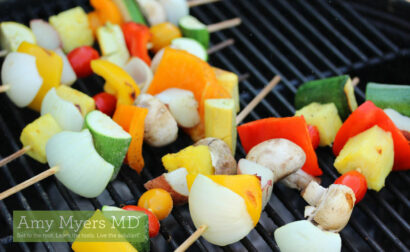 Memorial Day Veggie Skewers