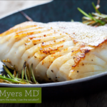 Pan Fried Wild-Caught Halibut with Fresh Rosemary and Thyme