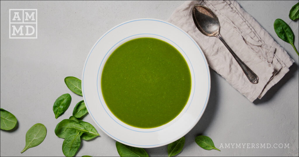 Gut Healing Bone Broth with Organic Greens