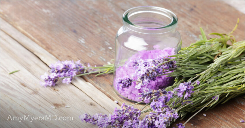 Calming Lavender Oil Body Scrub