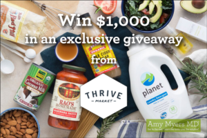 Win $1,000 in an Exclusive Thrive Market Giveaway!
