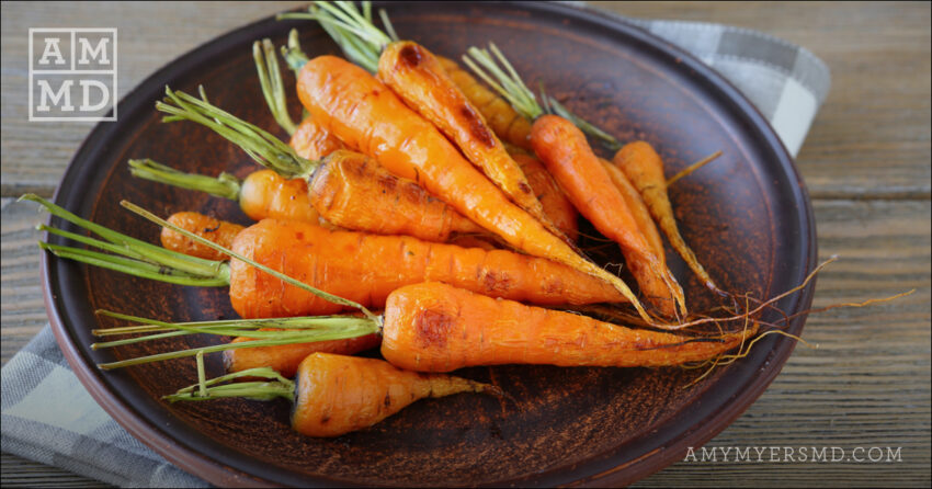 Organic Oven-Roasted Whole Carrots