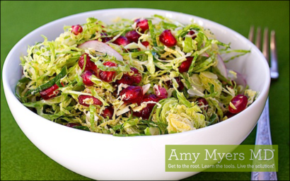 Gluten-Free, Dairy-Free Brussels Sprouts Salad