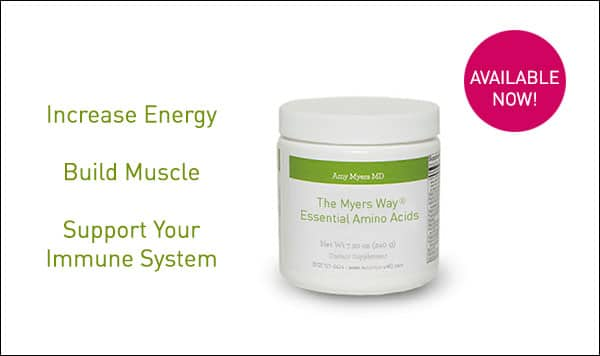 The Myers Way® Essential Amino Acids Supplement - Promo Image - Amy Myers MD