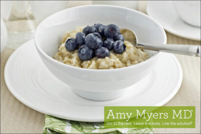 Blueberry Coconut Porridge