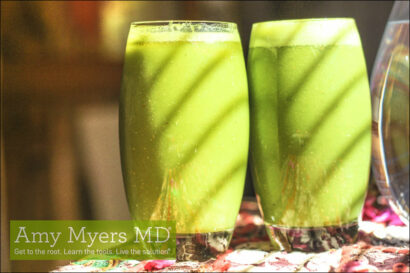 Kale Mint Lemongrass Smoothie