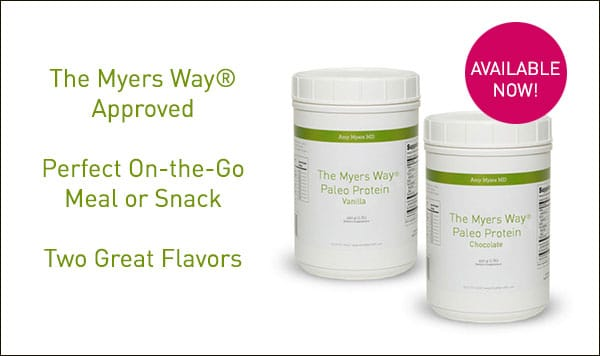 The Myers Way® Paleo Protein Powder - Promo Image - Amy Myers MD