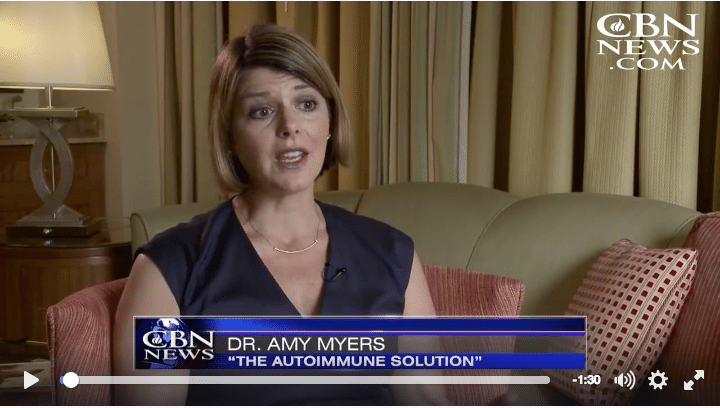How to Reverse Autoimmune Disease: Dr. Amy Myers on The 700 Club