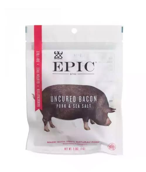 Auto-immune Friendly Snacks - Epic Uncured Bacon - Amy Myers MD®