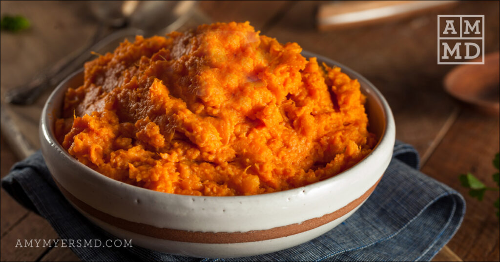 Cinnamon-Coconut Sweet Potato Mash