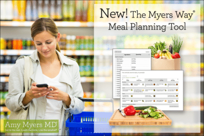 The Myers Way® Meal Planning Tool