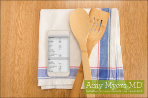 Mobile Friendly Meal Planning - Promo Image - Amy Myers MD