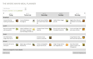 Personalize Your Weekly Meal Plan - Menu - Promo Image - Amy Myers MD