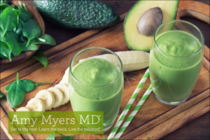 Detoxifying Ginger Avocado Green Smoothie
