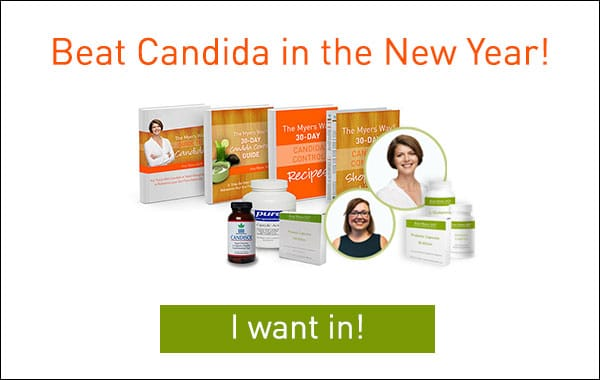 Beat Candida In the New Year - Infographic - CTA