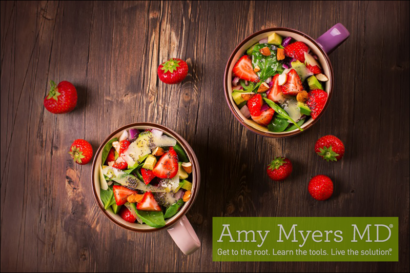 Turkey and Strawberry Spinach Salad
