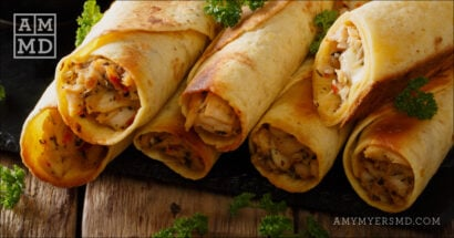 Grain-Free Chicken Taquitos