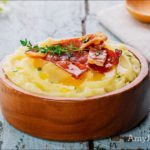 Bacon, Parsnip, and Rutabaga Mash
