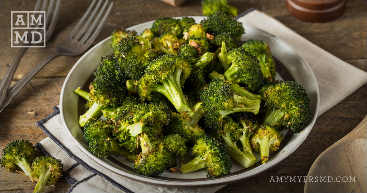 Moroccan Spiced Broccoli Amy Myers Md