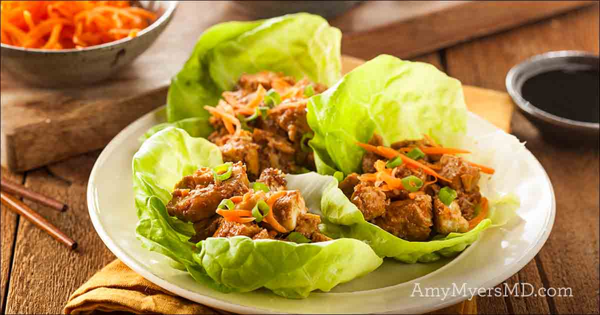 Nightshade-free Korean Lettuce Wraps - Amy Myers MD