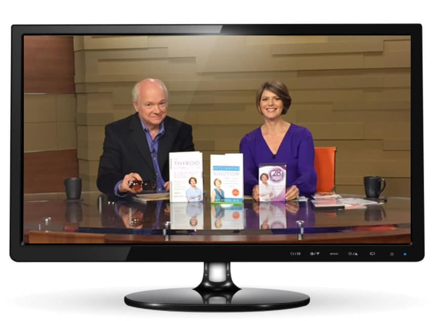 My Metabolism Makeover TV Special! - Dr. Myers and Host - Featured Image - Amy Myers MD®