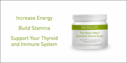 Increase Energy with Essential Amino Acids