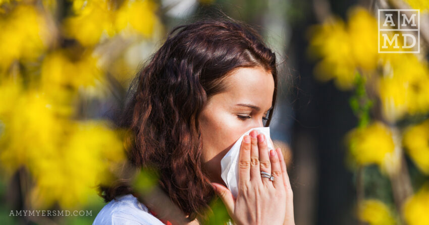 Banish Your Seasonal Allergy Symptoms Naturally