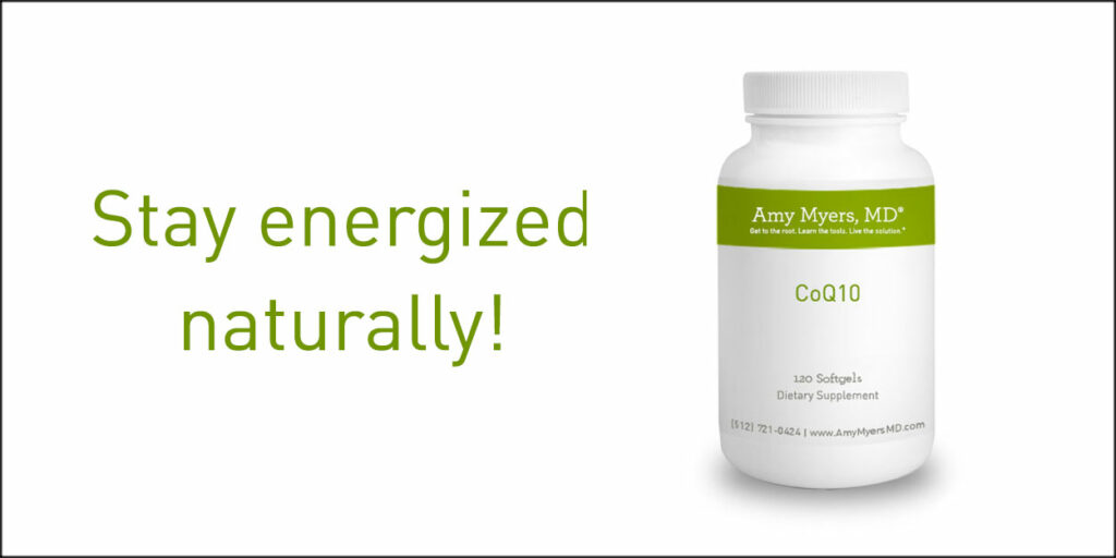 Stay Energized Naturally with CoQ10