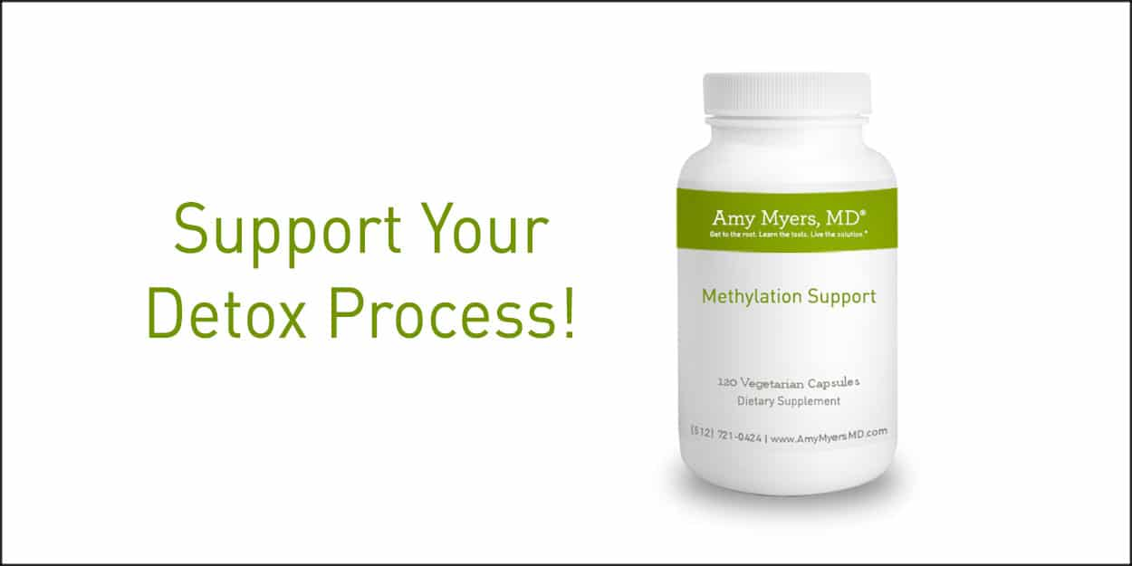 Detox with Methylation Support - Methylation Support Bottle - Featured image - Amy Myers MD