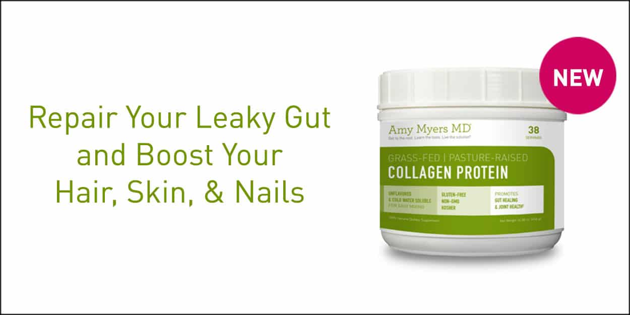 Collagen Protein Powder - Promo Image - Amy Myers MD